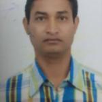Manoj, Lab Tech. in Raj Nursing. Naraingarh